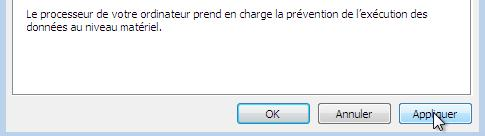 la prevention des donnees pour proteger votre ordinateur windows a ferme ce programme